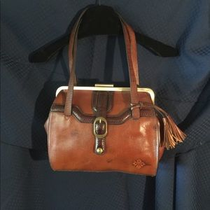 Brown Leather Patricia Nash purse BNWOT